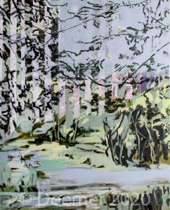 Waldlandschaft (Studie) III